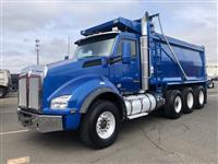 used dump for sale- used dump truck for sale-t880 used dump for sale-used kenworth t880 tri axle dump truck for sale-used kenwor