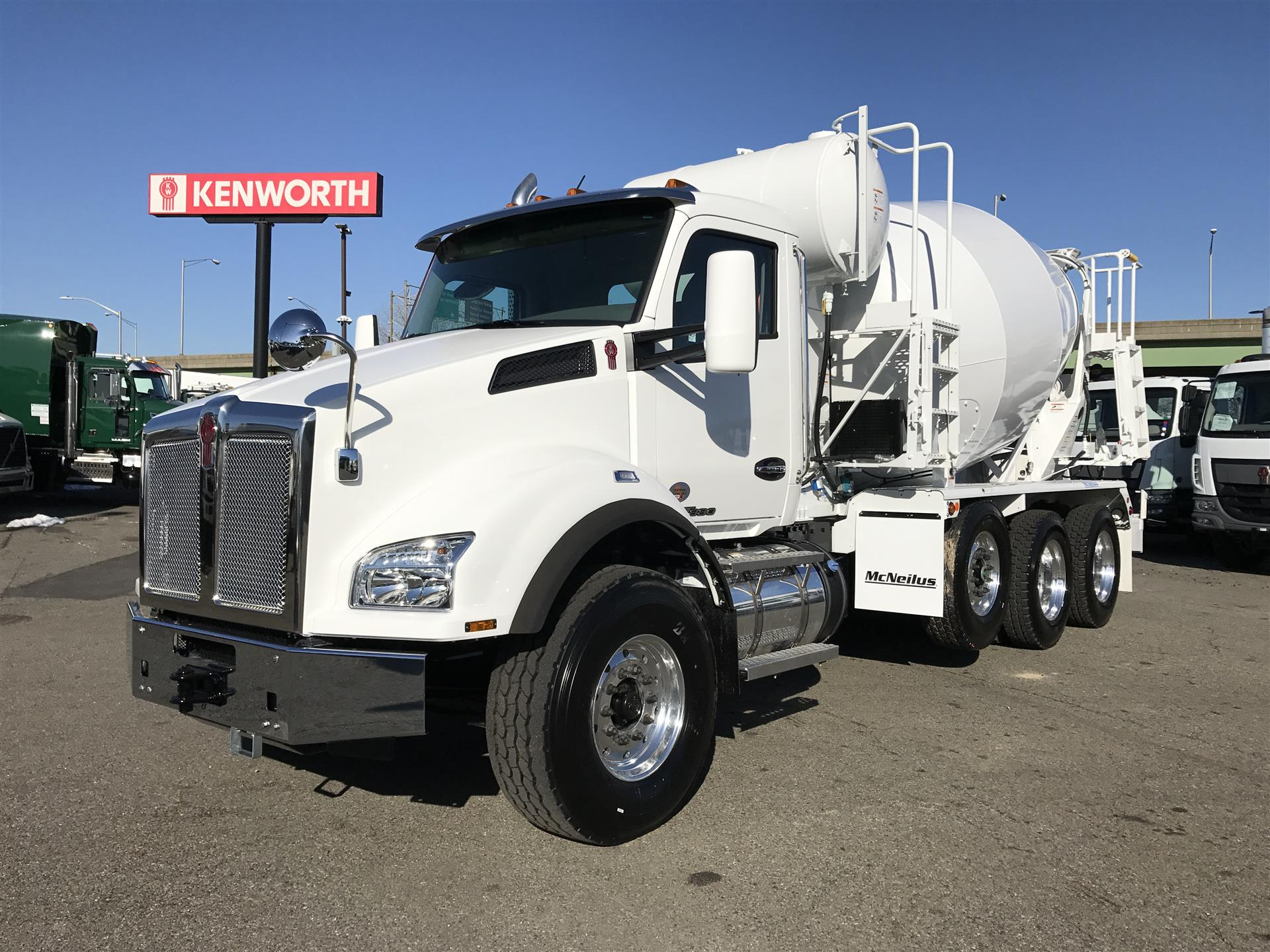 2018 Kenworth T880 concrete mixer cement truck mixer barrel mason supply truck