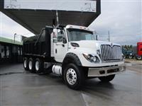 2013International7600 - Tri - Axle