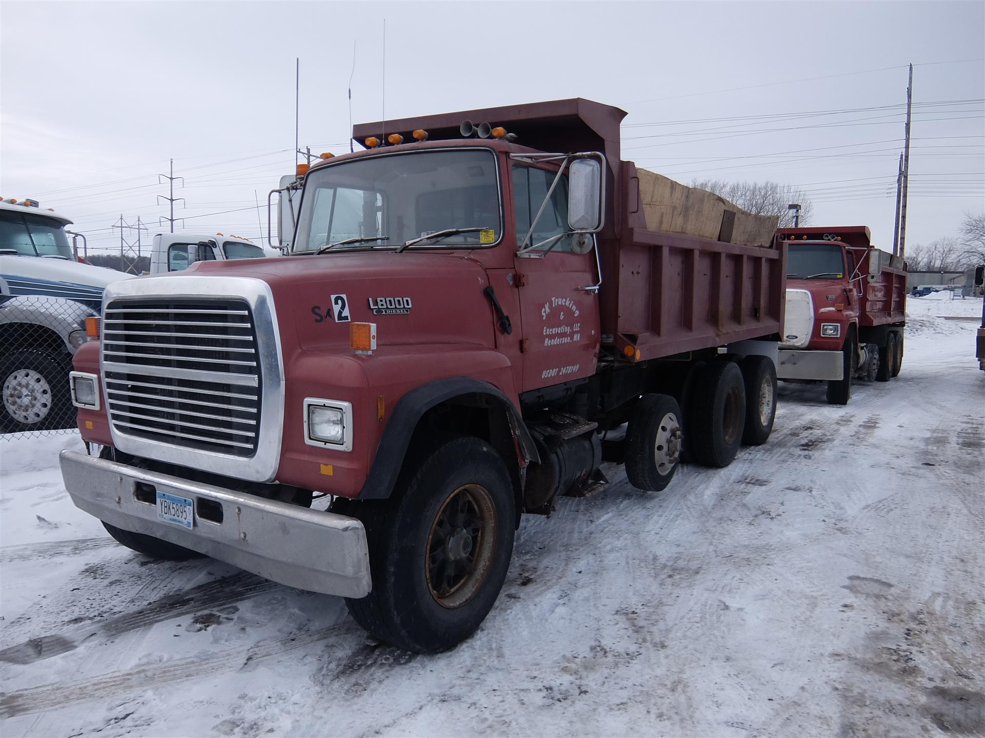 1989 Ford L8000 for sale-59084752