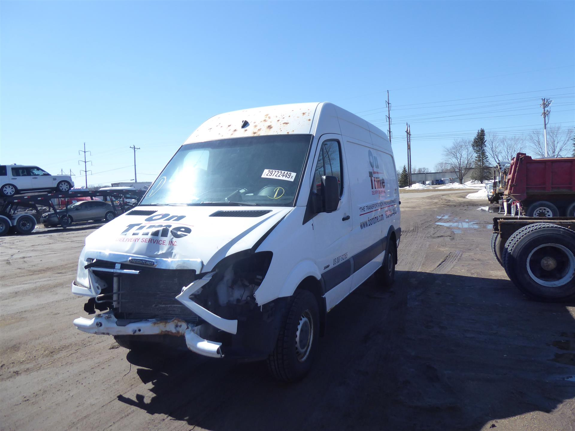 2010 Freightliner Sprinter for sale-59176191