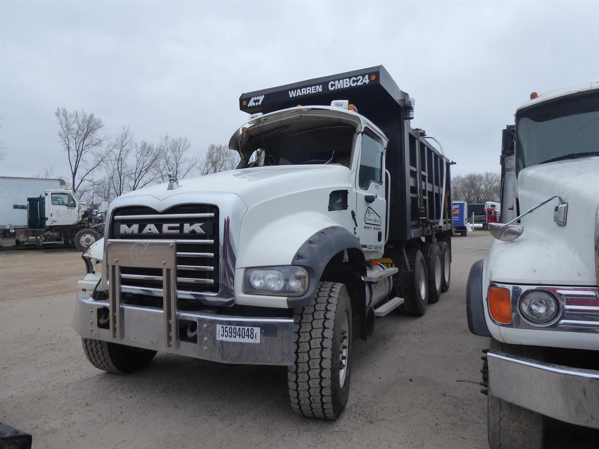 2009 Mack GU713 for sale-59205679