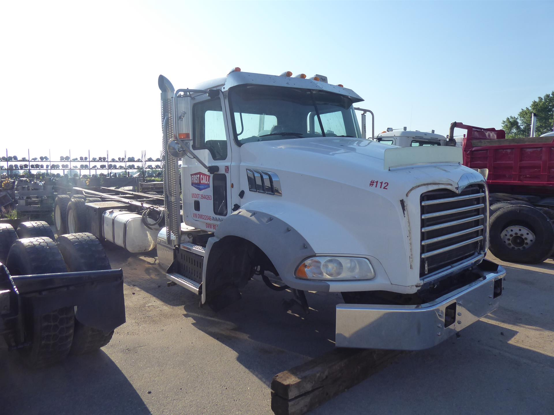 2013 Mack GU713 for sale-59253489