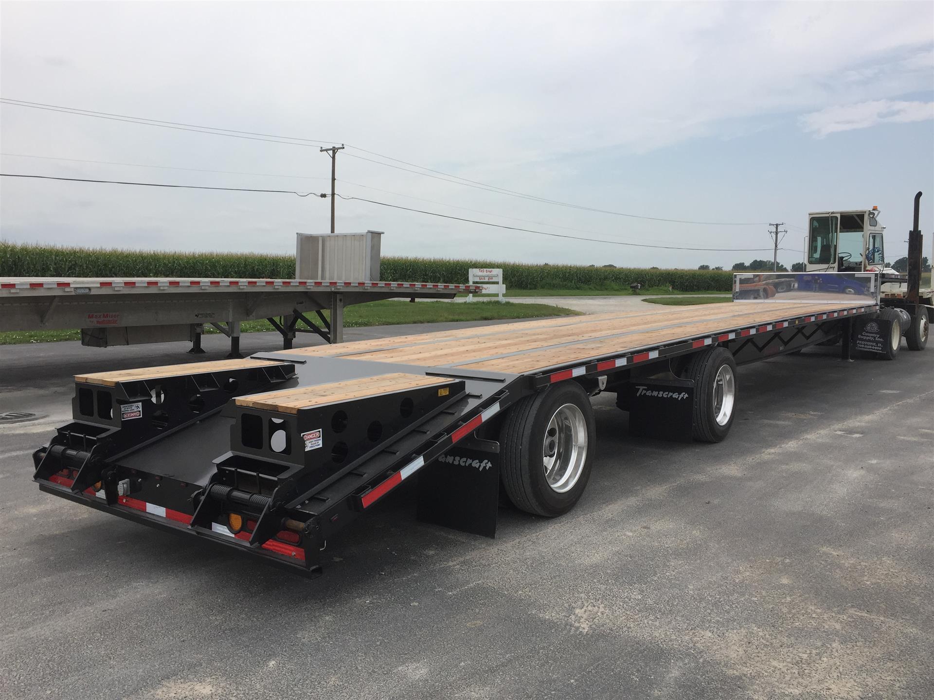 2019 Transcraft 804S Drop w/Beavertail Ramps