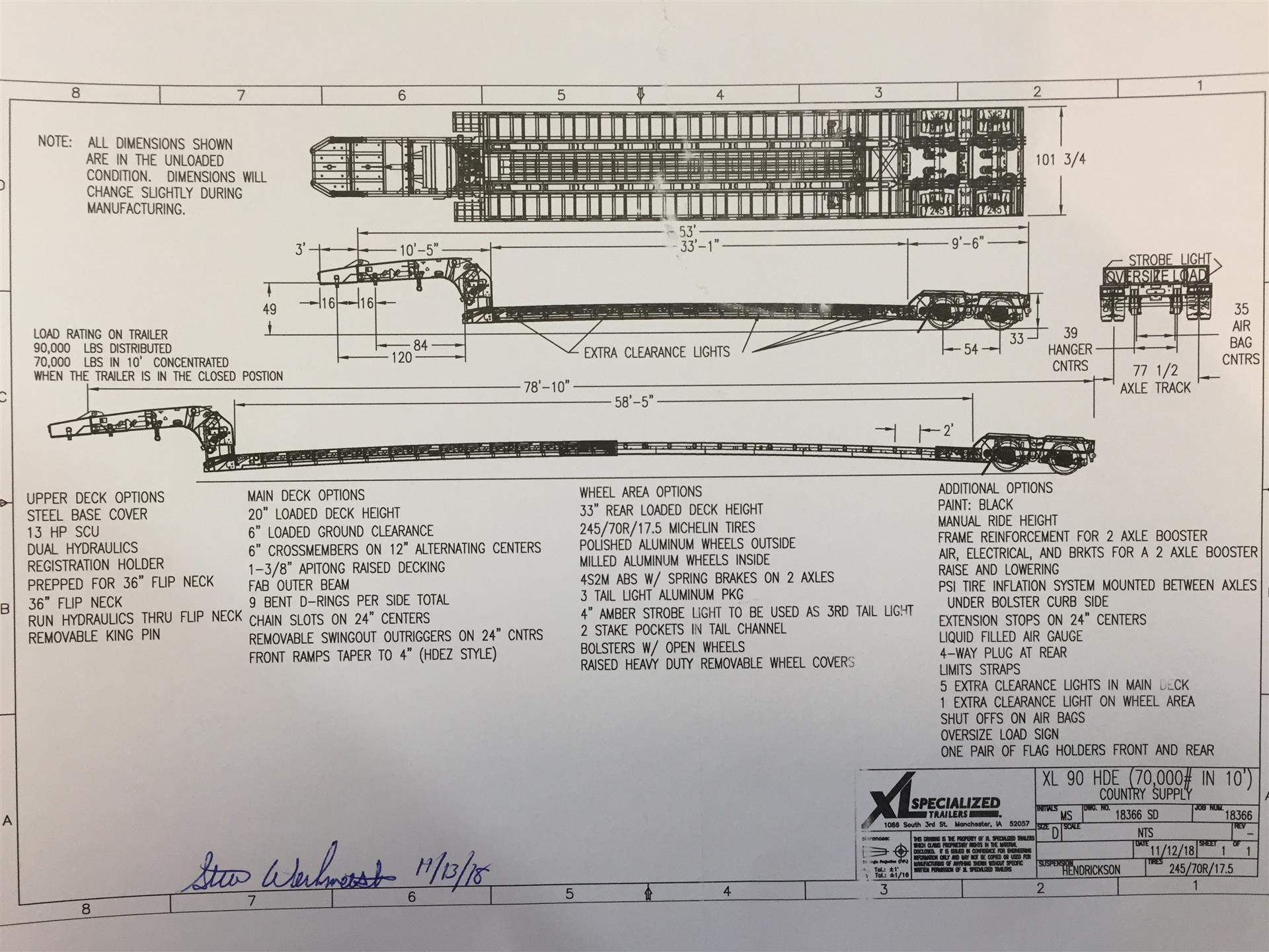 2020 XL Specialized XL90HDE