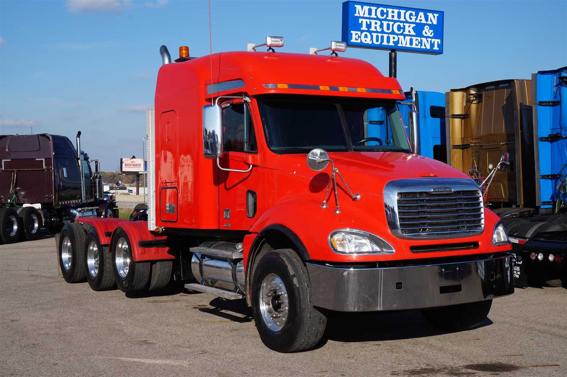 2008 Freightliner Columbia - 120 DAYCAB 534736 Daycab