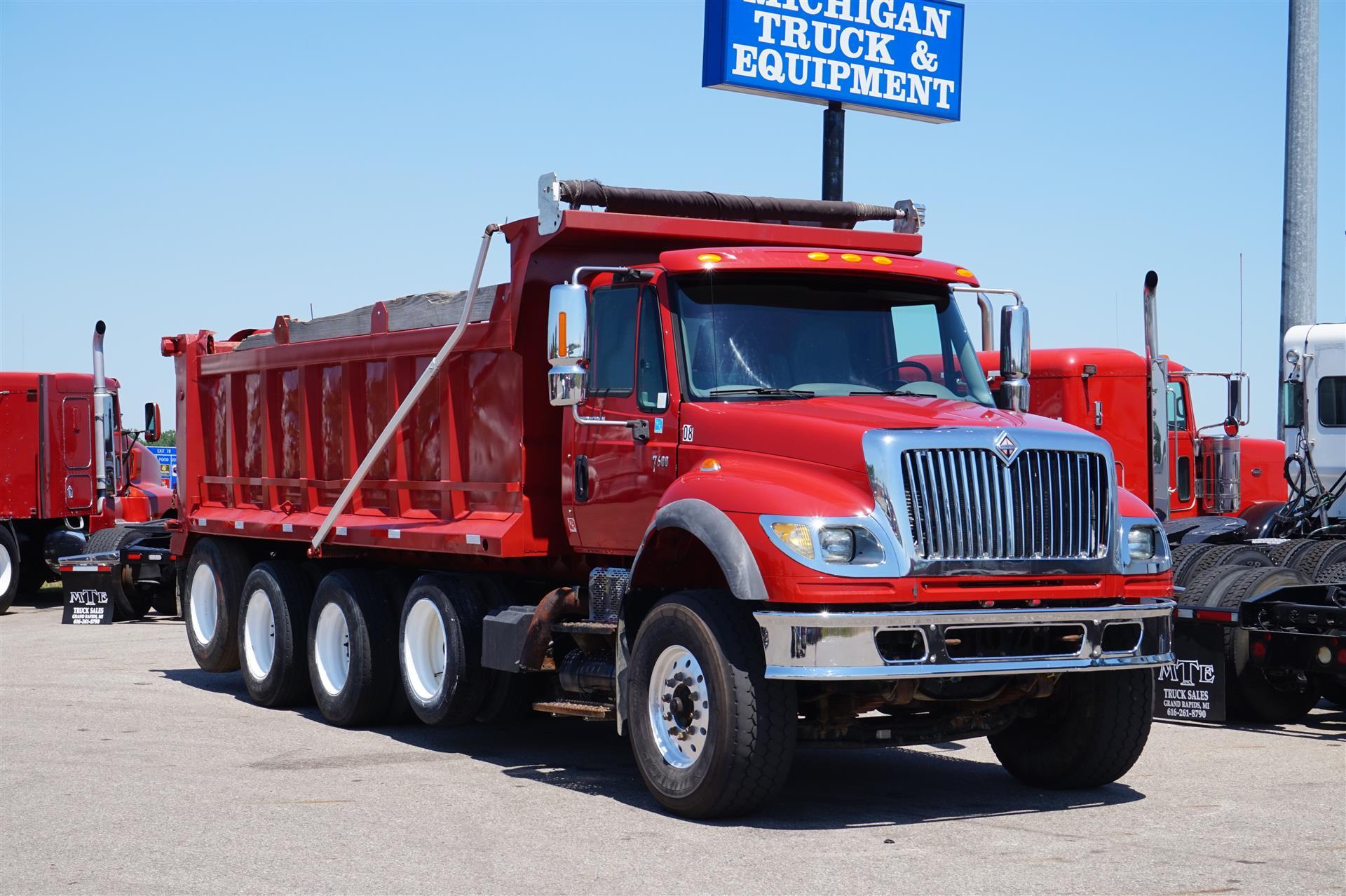 2007 International 7600 DUMP TRUCK 578669 Dump Truck