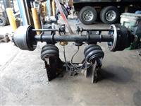 Hub Piloted Pusher Axle