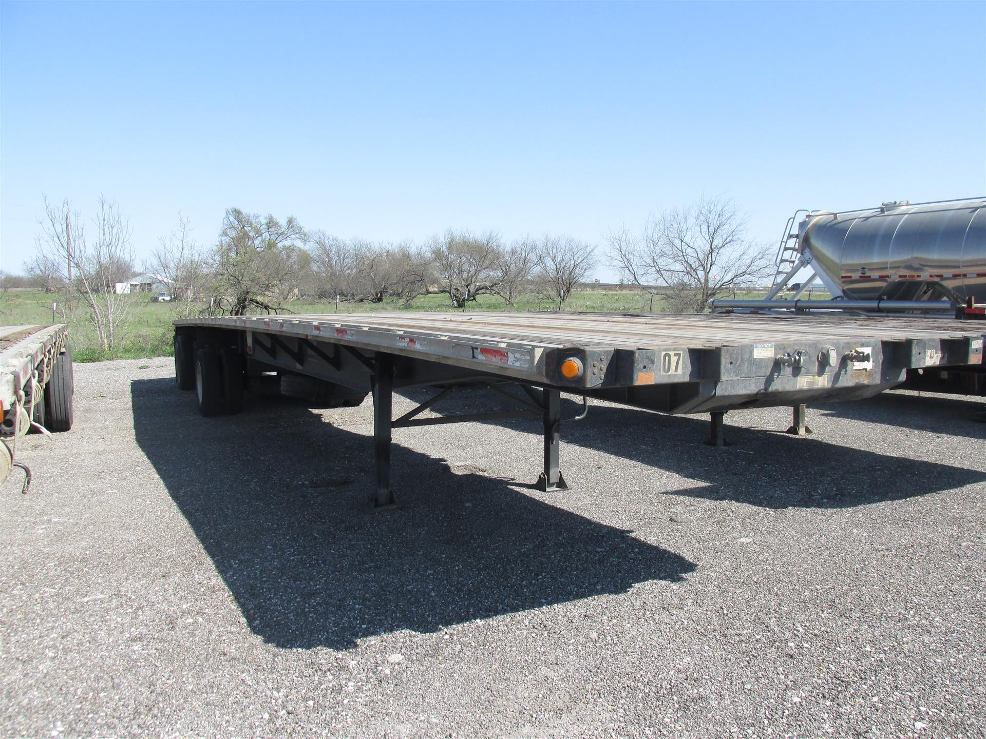 2005 Fontaine Flatbed