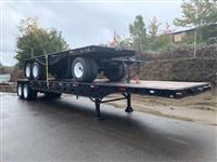1972Brown40' FLATBED