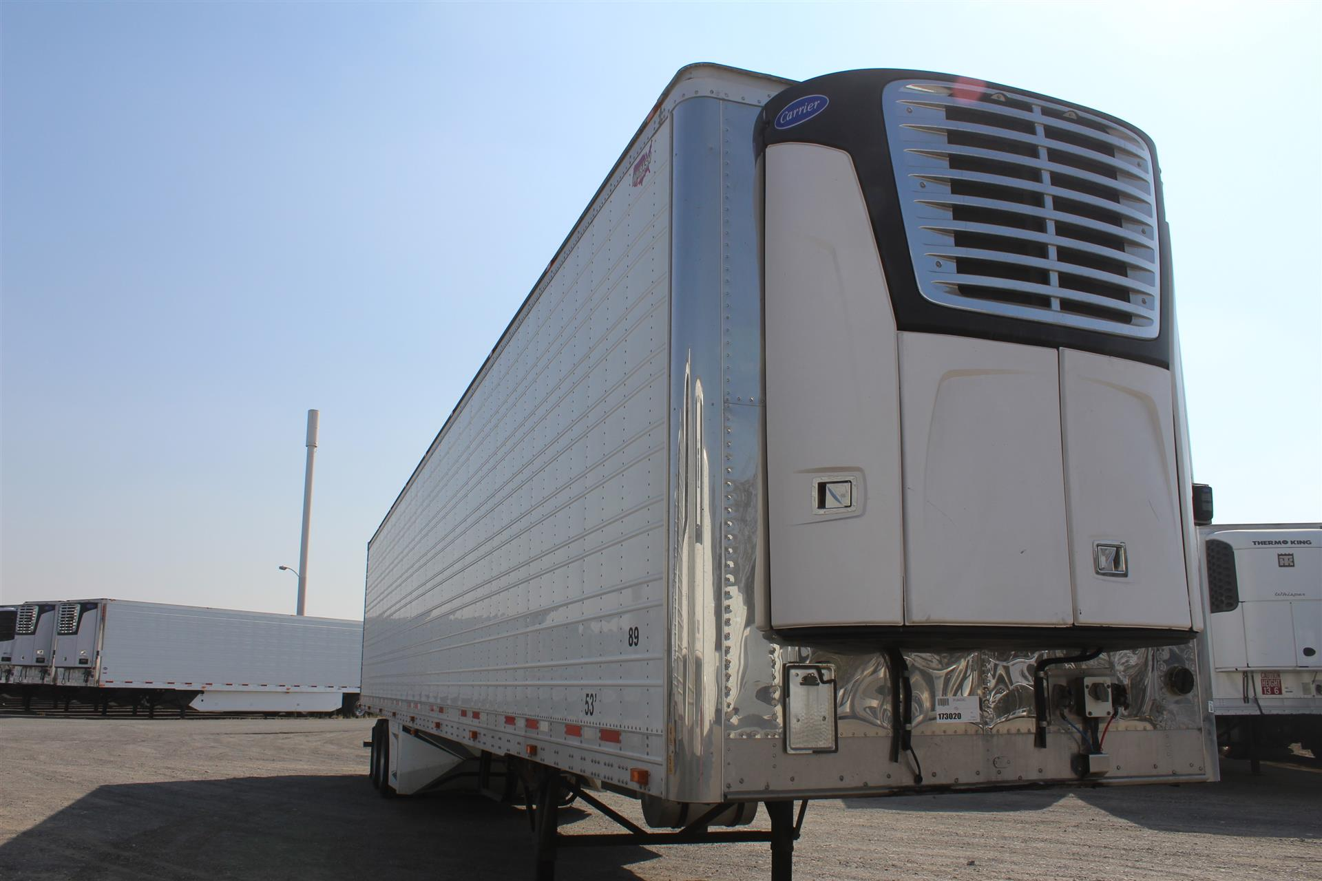 2015 Wabash Reefer-2 Axle