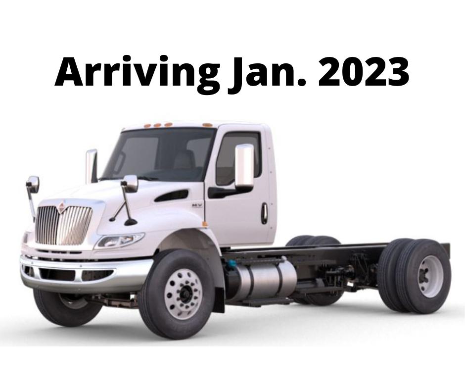 2023 International MV607 SBA 4X2