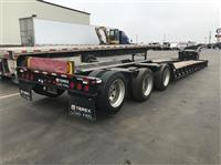 2009 LOAD KING 55 TON NGB LOWBOY, PONY MOTOR,