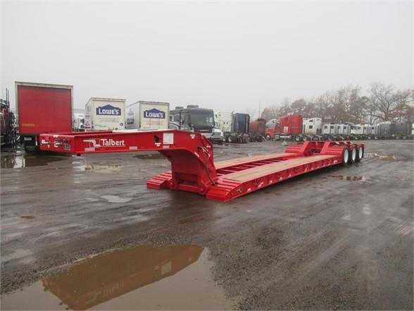2019 Talbert 55 TON HRG TRI AXLE AIR RIDE