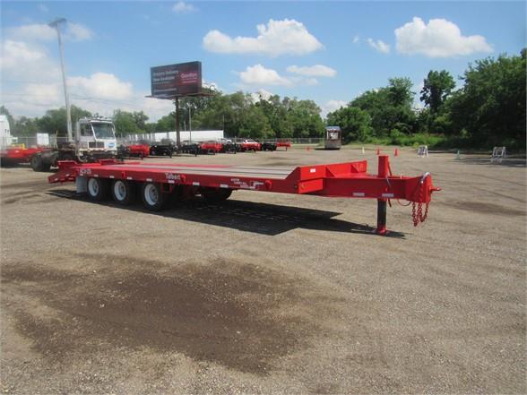 2020 Talbert 25 ton tri axle