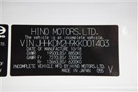 2019 Hino 195