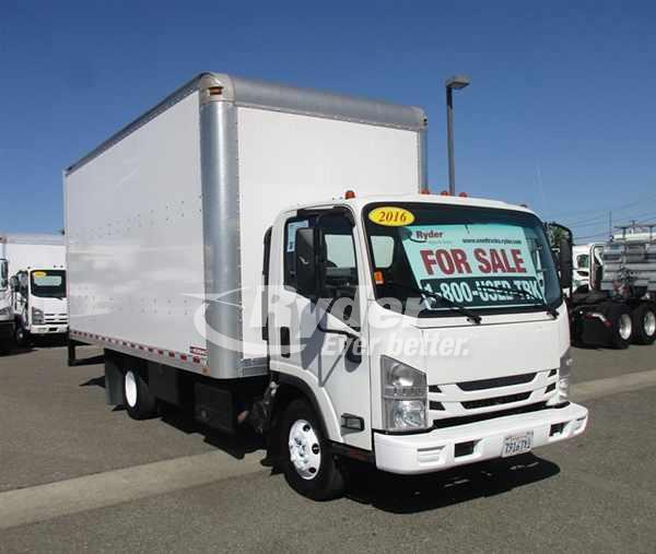 2016 Isuzu NPR Box Truck - West Sacramento, CA