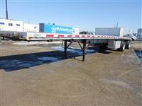 Used 2005 East aluminum flatbed for Sale