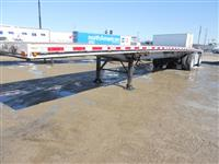 Used 2008 East aluminum flatbed for Sale
