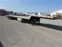 "Used 2008 Transcraft 51'-6"" combo dropdeck for Sale"