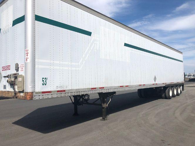 2000 Wabash quad axle dry van