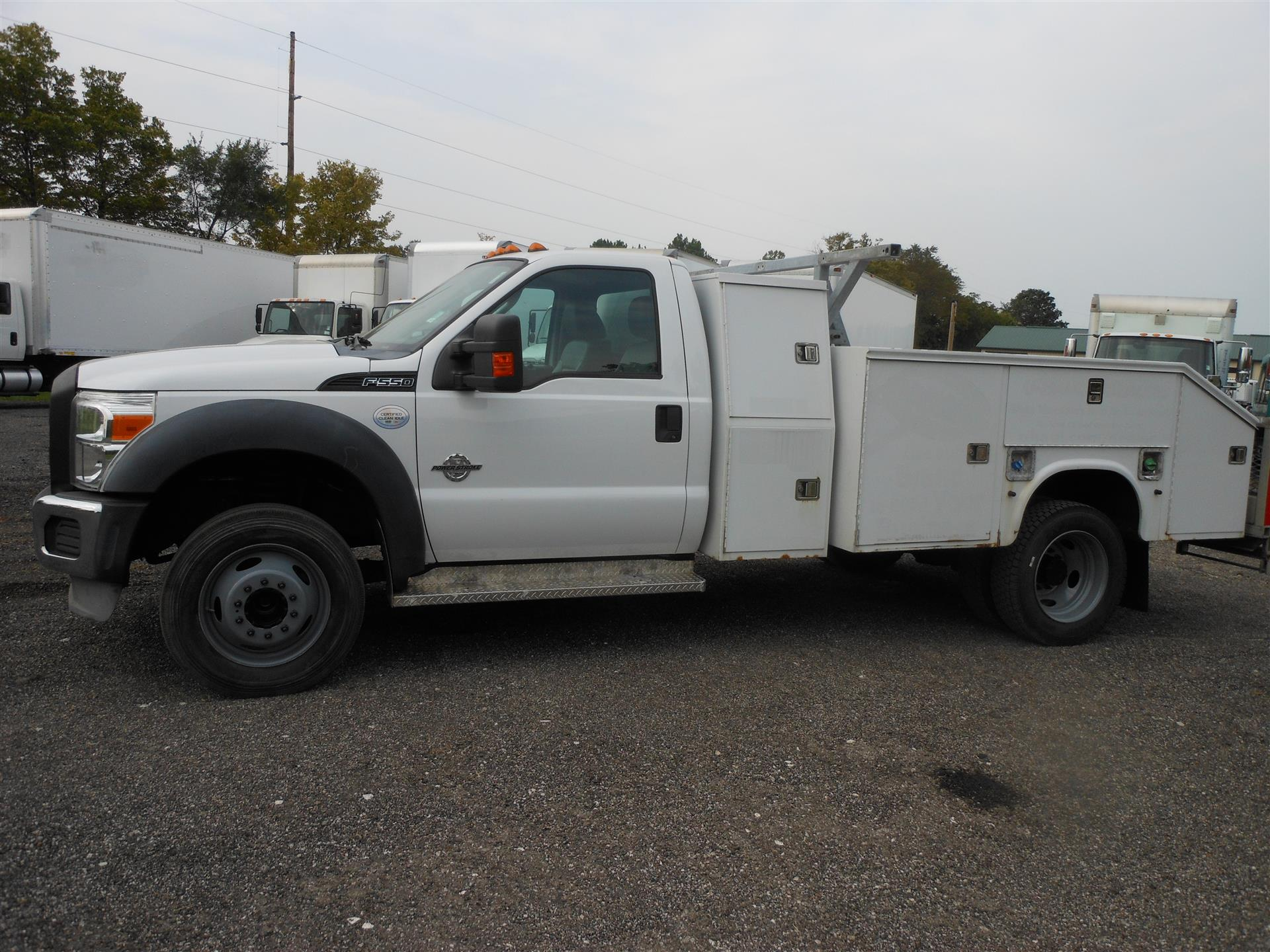 2012 Ford F550