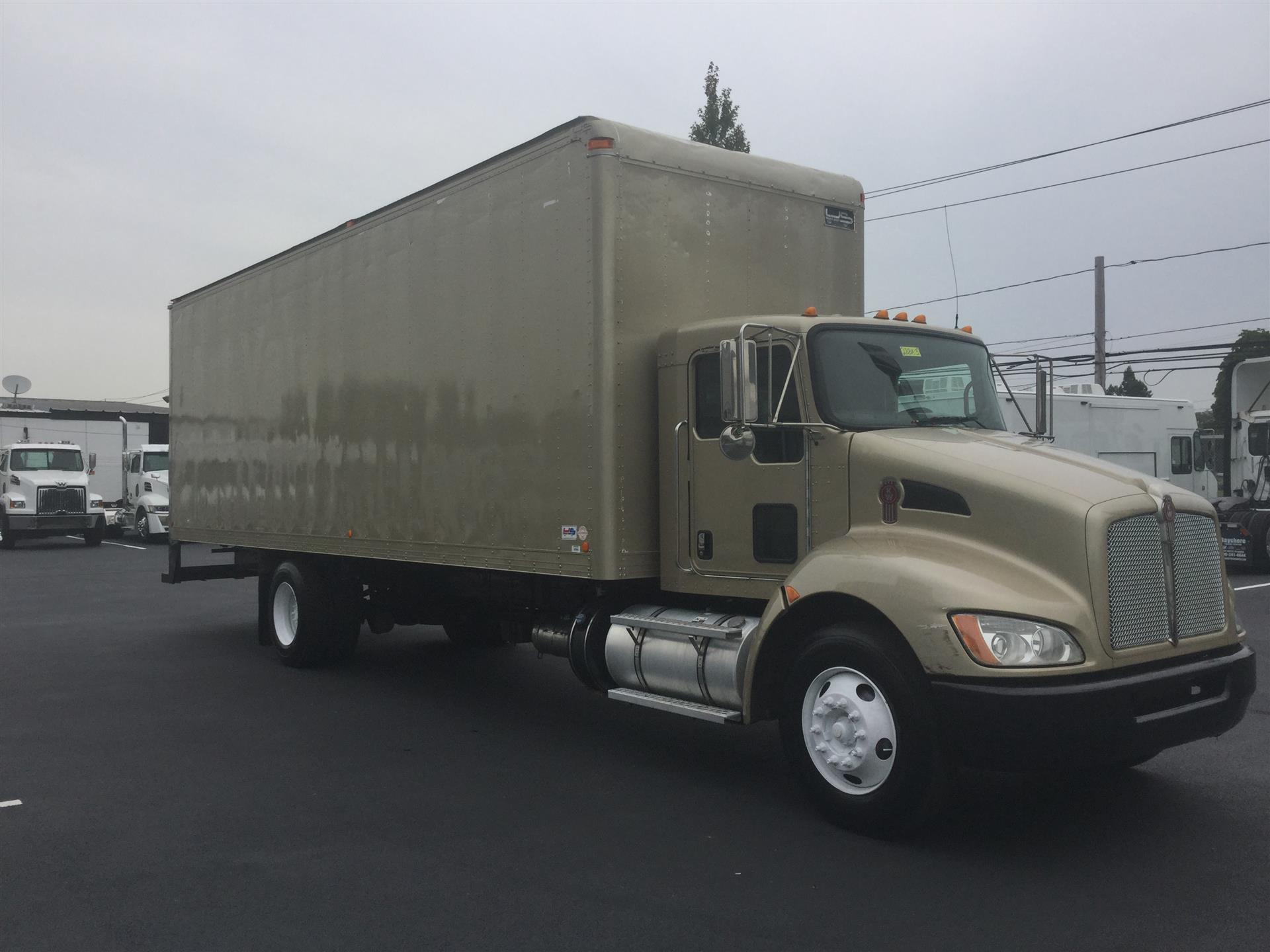 2016 Kenworth T270 Box Van Truck For Sale  764993