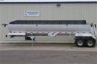 2014 Travis Frameless Aluminum End Dump