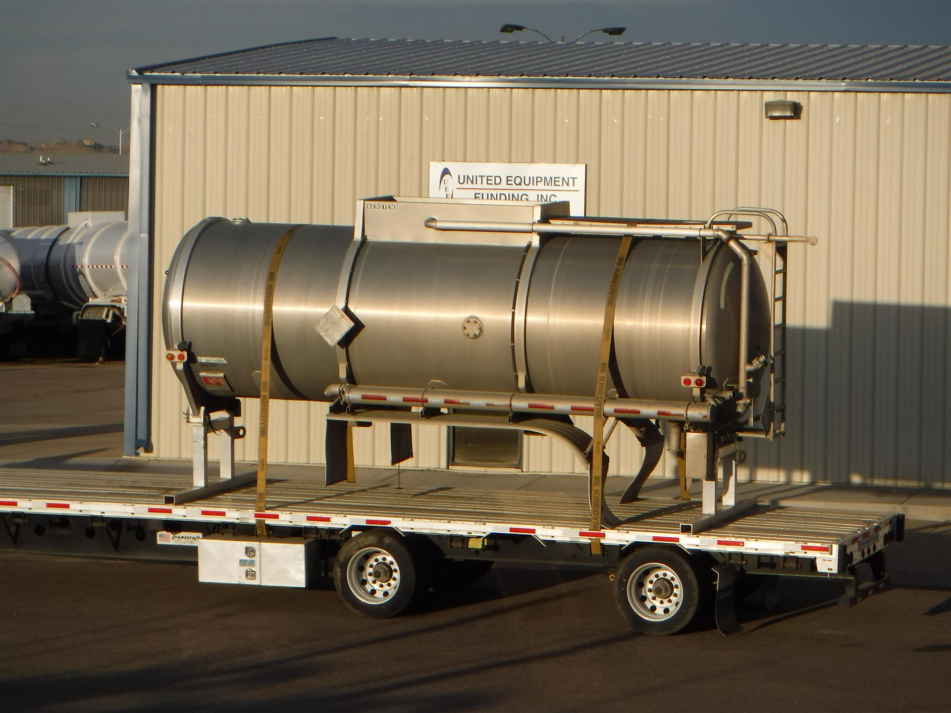 2012 Kersten MC407 Crude Oil Body Tank