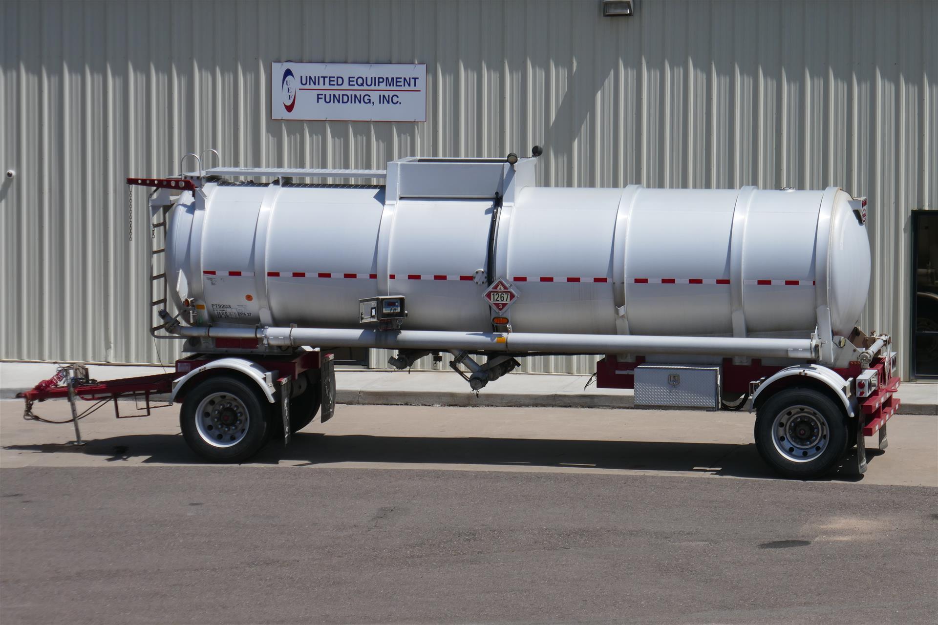 2014 Troxell DOT 407 Crude Oil Tanker