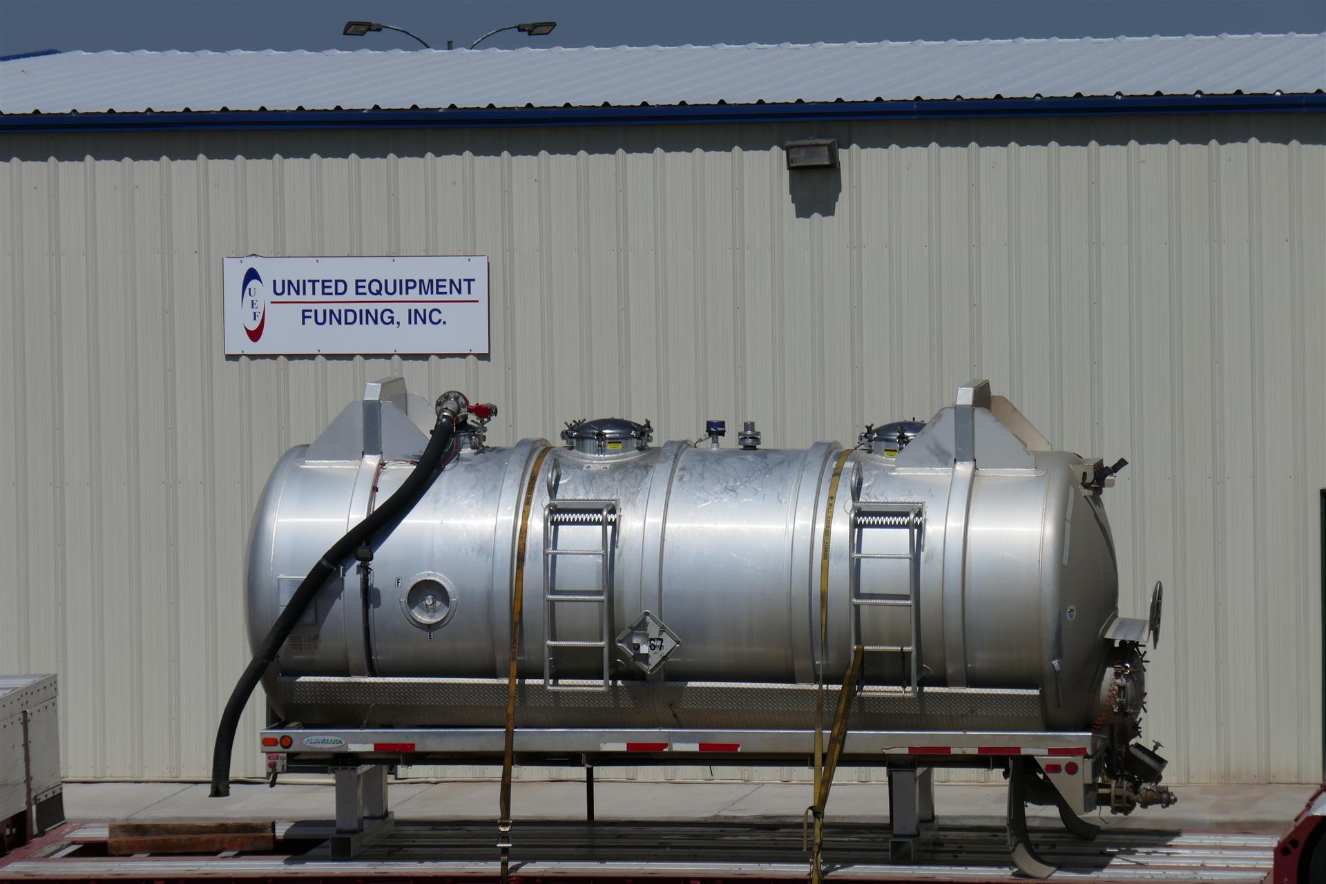 2014 Arthur Custom Tank, LLC Vacuum Tank