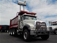 Used 2017MackGU713 Tri Axle for Sale