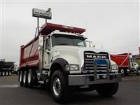 Used 2016MackGU713 Tri Axle for Sale