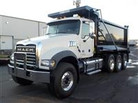 Used 2015MackGU713 Tri Axle for Sale