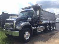Used 2012MackGU713 Tri Axle for Sale