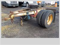 Used 1987 Fruehauf Converter Dolly for Sale