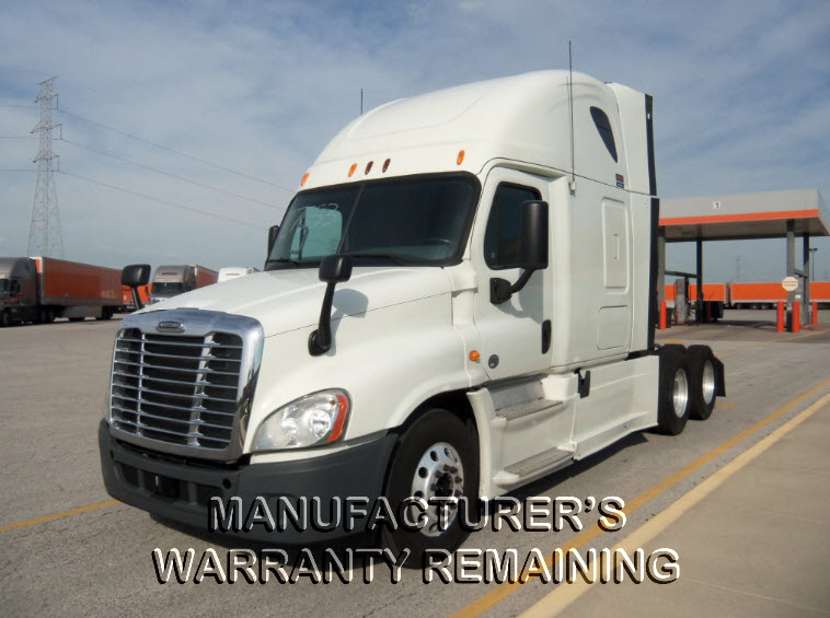 USED 2013 FREIGHTLINER CASCADIA DAYCAB TRUCK #122636