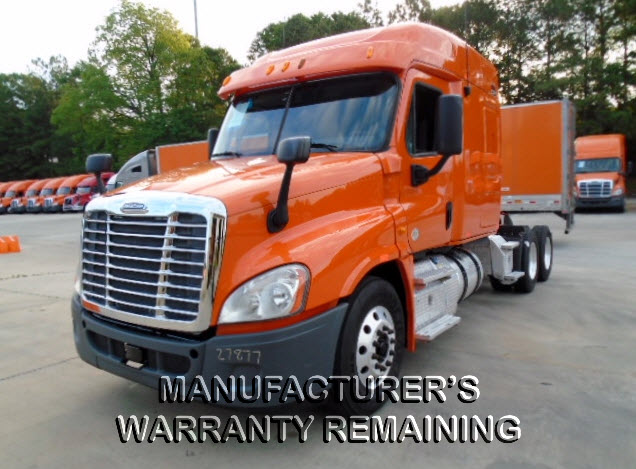 USED 2013 FREIGHTLINER CASCADIA SLEEPER TRUCK #122559