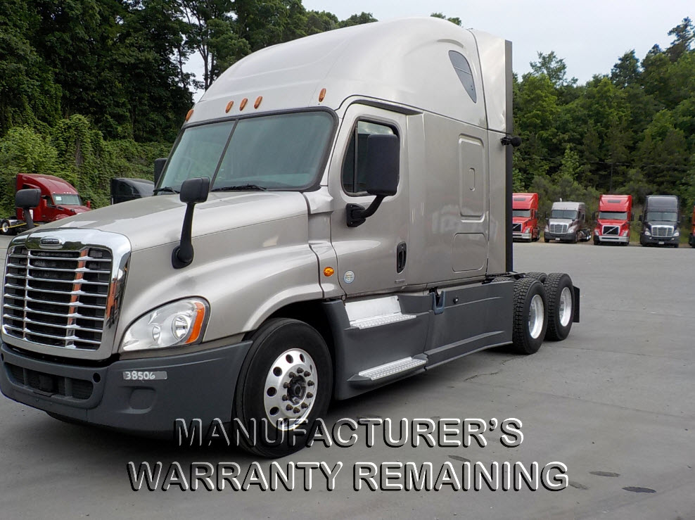 USED 2015 FREIGHTLINER CASCADIA SLEEPER TRUCK #123506