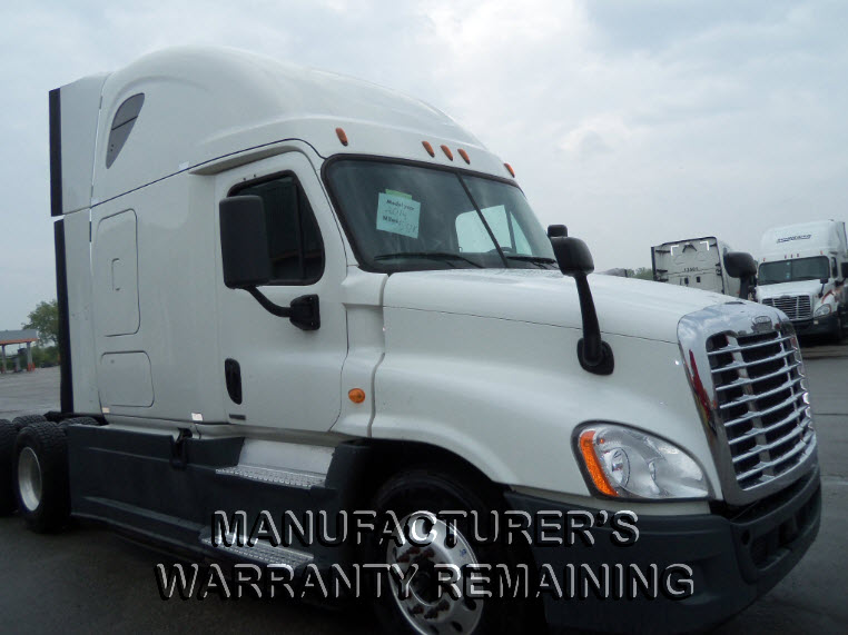 USED 2014 FREIGHTLINER CASCADIA DAYCAB TRUCK #123537