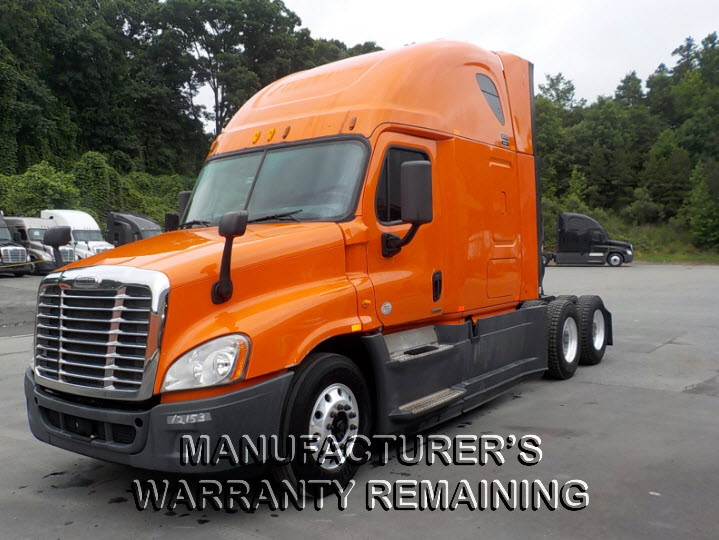 USED 2014 FREIGHTLINER CASCADIA DAYCAB TRUCK #123520