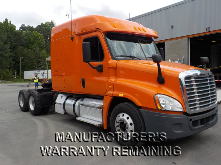 USED 2013 FREIGHTLINER CASCADIA DAYCAB TRUCK #124704