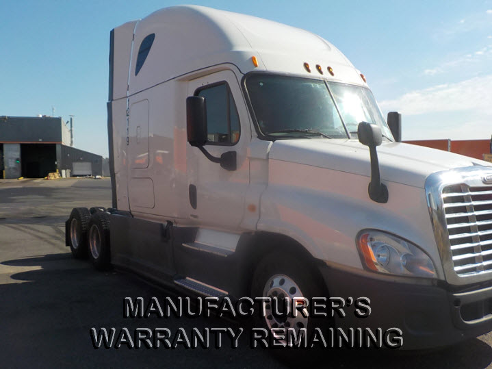 USED 2014 FREIGHTLINER CASCADIA SLEEPER TRUCK #84567
