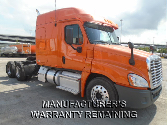 USED 2013 FREIGHTLINER CASCADIA DAYCAB TRUCK #125415