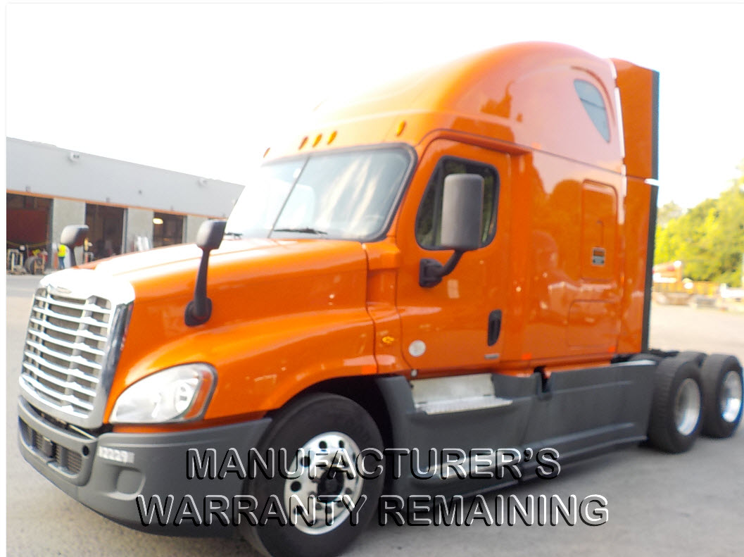 USED 2014 FREIGHTLINER CASCADIA SLEEPER TRUCK #125400