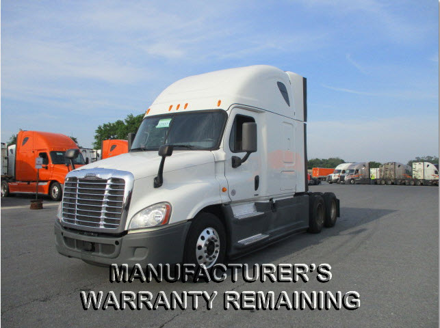 USED 2016 FREIGHTLINER CASCADIA SLEEPER TRUCK #125401