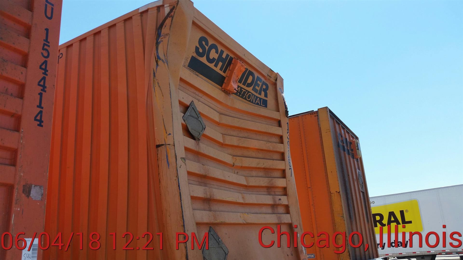 2012 CIMC Container
