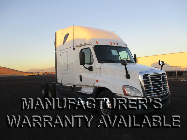 USED 2014 FREIGHTLINER CASCADIA SLEEPER TRUCK #126583