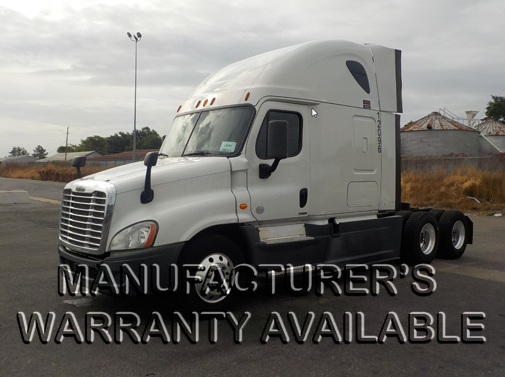 USED 2014 FREIGHTLINER CASCADIA SLEEPER TRUCK #126597