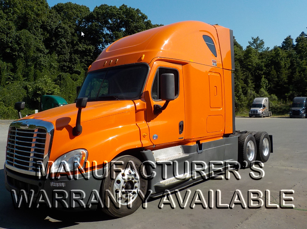 USED 2014 FREIGHTLINER CASCADIA SLEEPER TRUCK #126561
